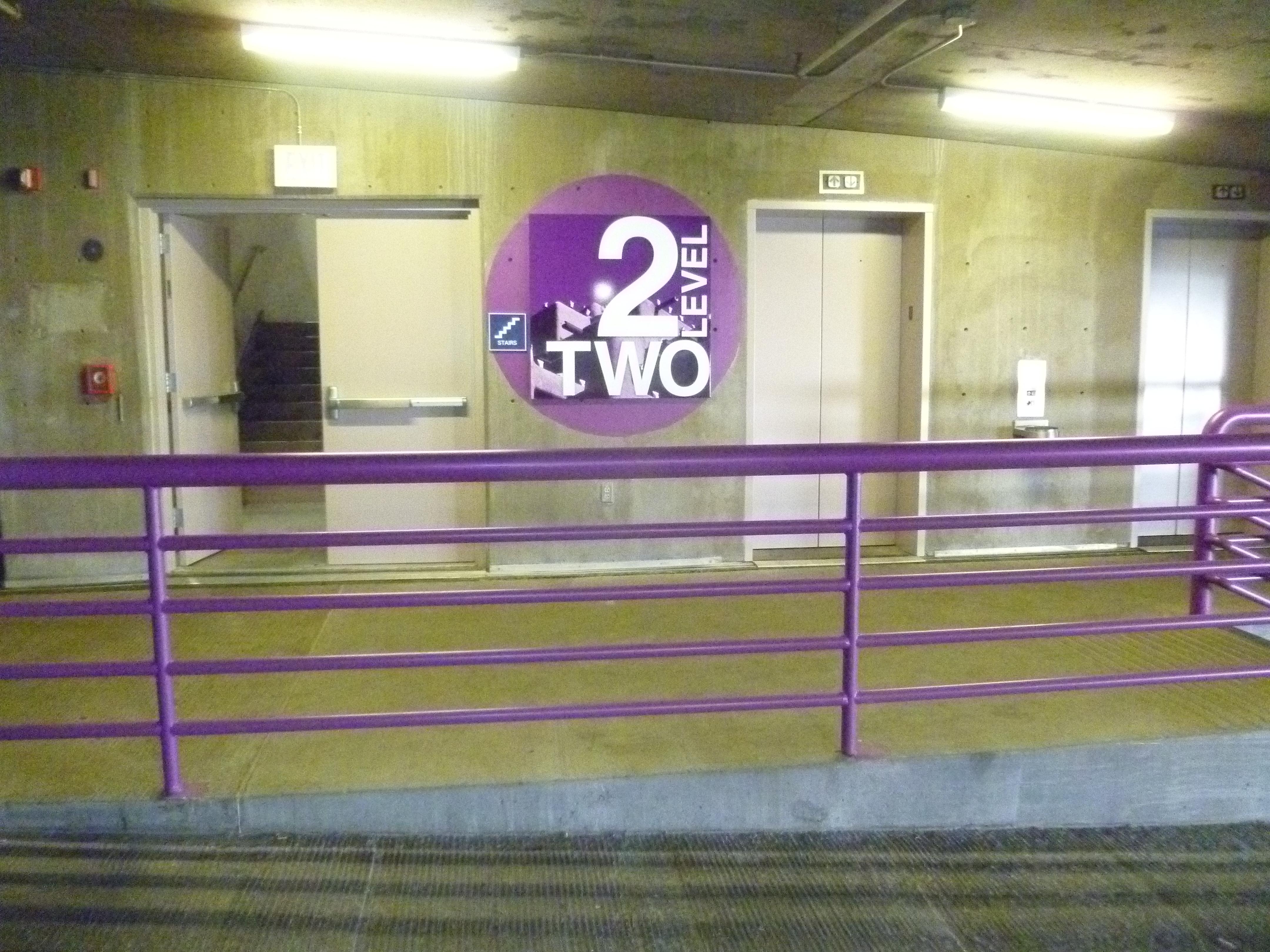 Civic Center Garage: Albuquerque Convention Center Parking Garage Re-Stripe