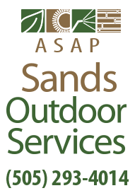 Parking Lot Sweeping & Landscaping — Albuquerque, NM — Sands Outdoor Services